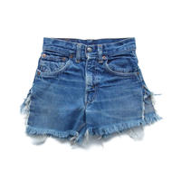"vintage ""Levis"" big E cut off denim shorts"