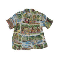"vintage ""reyn spooner"" aloha shirt"