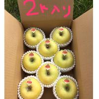 シナノゴールド りんご2キロ(8〜9個入り)送料込(一部地域を除く)