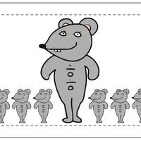 ネズミタオル
