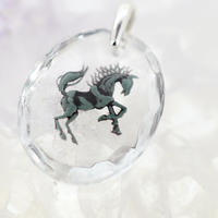 黒馬(horse025)