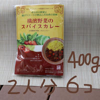 [マサラモア] 横濱野菜のスパイスカレー400g 6個入り