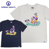 "(バンブーシュート)BAMBOO SHOOTS SOKKAN TEE ""LAKERS"""