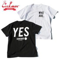 (クックマン)Cookman T-shirts 「YES」