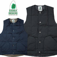 (シエラデザインズ)SIERRA DESIGNS CREW NECK DOWN VEST