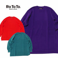 (ロトト)RoToTo COTTON THERMAL L/S KNIT