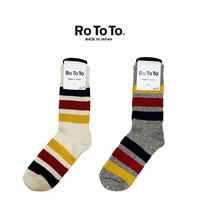 (ロトト)RoToTo PARK STRIPES SOCKS