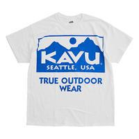 (カブー)KAVU ビッグロゴT ホワイト XLサイズ
