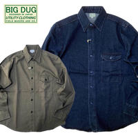 (ビッグダグ)BIG DUG UTILITY SHIRT