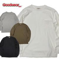 (グッドウェア)Goodwear L/S CREW NECK POCKET TEE