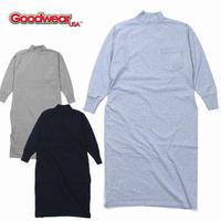 (グッドウェア)Goodwear L/S MOCK ONEPIECE LONG