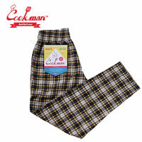 (クックマン)Cookman Chef Pants 「Corduroy Tartan」 YELLOW