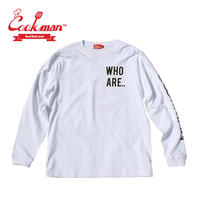 (クックマン)Cookman Long sleeve T-shirts 「YES」
