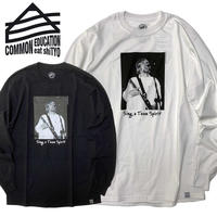 (コモンエデュケーション)COMMON EDUCATION SING A TEEN SPIRIT L/S TEE