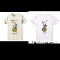 【在庫限り】月面ニシジマTシャツXL〜XXXL