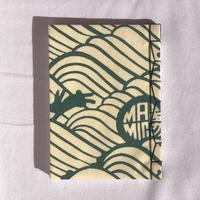 和綴じノート「波うさぎ A」