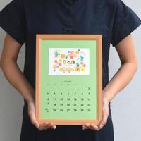 【ORDER MADE WORK】思い出 家族 カレンダー