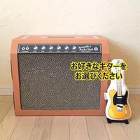 またたびロックンロール ギターアンプ オーカー(爪とぎ)  とお好きなギターのセット