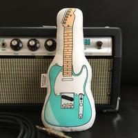 またたびロックンロール ギター(サーフグリーン)