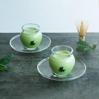 茶壺の抹茶パンナコッタセット
