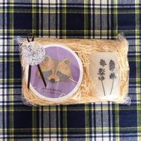 季節の蝋燭と紅茶 *GIFT SET (lavender)
