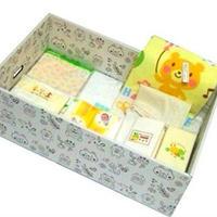 日本製マタニティボックス(クラッシック12点セット) クマ柄ベビーボックス