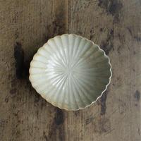 安齋新厚子 青磁菱形菊鉢(小)
