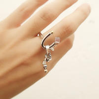 恋の花瓶    purple   ring