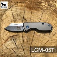 Luchs(ルークス )チタンハンドル  ミニナイフ【LCM-05Ti 】フィッシング  アウトドア キャンプ