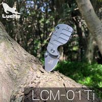 Luchs(ルークス )チタンハンドル アクセサリー ミニナイフ LCM-01Ti