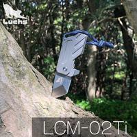Luchs(ルークス )チタンハンドル アクセサリー ミニナイフ LCM-02Ti