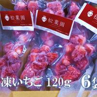 冷凍果物いちご120g   6個セット