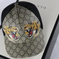 GUCCI-タイガーGGスプリーム帽子