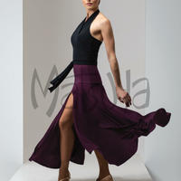 テンプレススカート(ブラック)