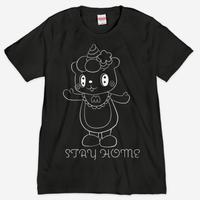 ステイホームシルクスクリーンTシャツ 【そうりょこみなの】