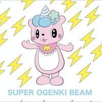 【SUPER OGENKI BEAM】ICカードステッカ【そうりょこみ】
