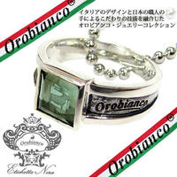 日本製 Orobianco オロビアンコ リング ネックレス 指輪 #15 #17 #19 アクセサリー (207)(208)(209) サイズ選択