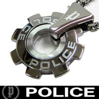 POLICE ポリス ネックレス  ギアモチーフ (O)