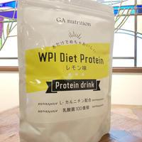 GA nutrition WPI Diet Protein  レモン味 500g