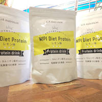 GA nutrition WPI Diet Protein  レモン味 500g × 3