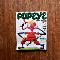 POPEYE NO.66 1979年11/10号 the Big Baseball!! SCHOOL KIDS STATION ポパイ・オモシロ・モール