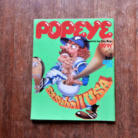 POPEYE NO.39 1978年9/25号 Baseball USA