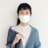 マスク WPCOCOON 総シルク羽二重(Mサイズ)