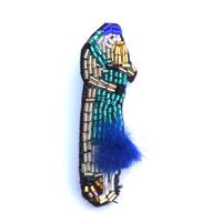 夜汽車にて long goodbye | ビーズブローチ hand made beads brooch