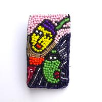 ピカソの夢 | ブローチ hand made beads broach