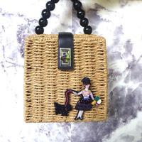木陰のマダムのカゴバッグ | カゴバッグ