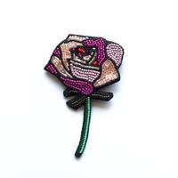 Rose  | ビーズブローチ