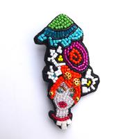 ドリームガール | ブローチ hand made beads broach