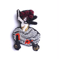 viva! cancan(ビバ!カンカン) | ビーズブローチ hand made beads brooch