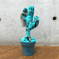 "MOOKIE SATO×MB7r LITTLE PLANTS CACTUS ""BLUE"""